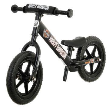 """Беговел Strider 12"""" Sport Harley-Davidson (черный)"""