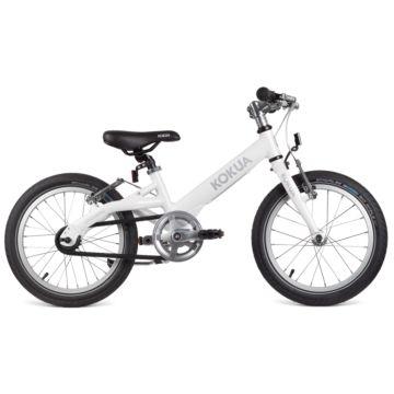 """Детский велосипед Kokua LiketoBike Sram Automatix V-Brakes с колесами 16"""" (жемчужный)"""