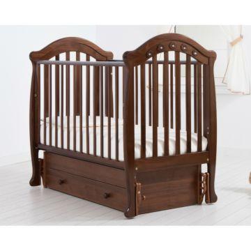 Кроватка детская Гандылян Джозеппе (универсальный маятник) (орех)