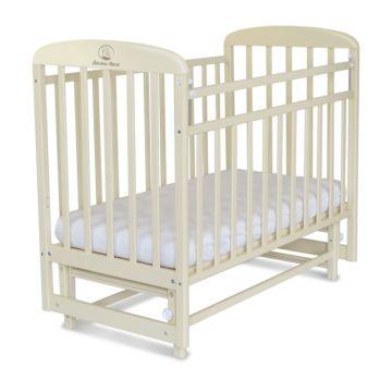 Кроватка детская Альма-Няня Милана (поперечный маятник) (береза)