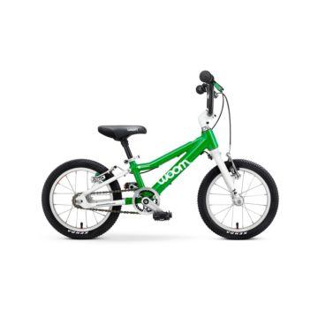"""Детский велосипед Woom 2 14"""" (зеленый)"""