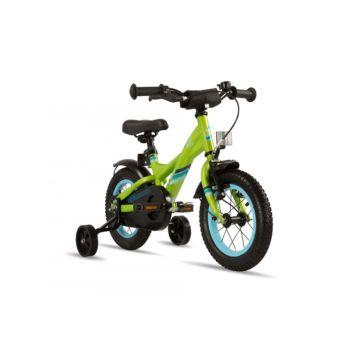 "Велосипед S'cool XXlite steel 12"" (2016) зеленый"