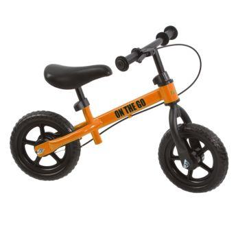 Беговел FunKids On-the-Go с ПВХ колесами (оранжевый)