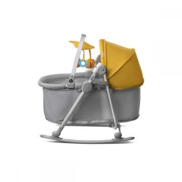 Колыбель-шезлонг KinderKraft Unimo (yellow)