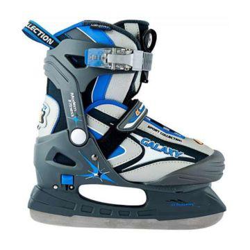 Раздвижные коньки GALAXY (голубые)