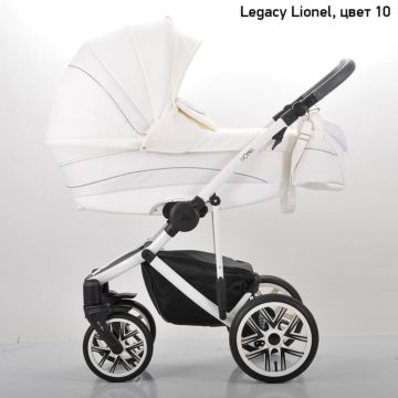 Коляска 2 в 1 Legacy Lionel (белый)