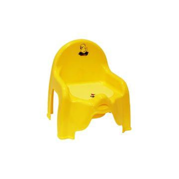 Горшок-стульчик IDEA (М-Пластика) М2596 (Жёлтый)