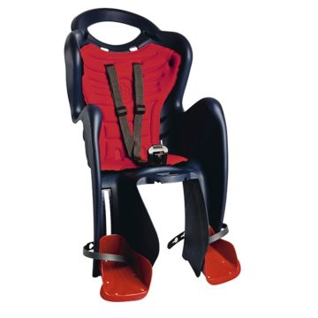 Велокресло на подседельную трубу Bellelli Mr Fox Standard B-Fix до 22 кг (темно-синее)