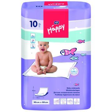 Пелёнки одноразовые Bella Baby Happy 60х90 см (10 шт)