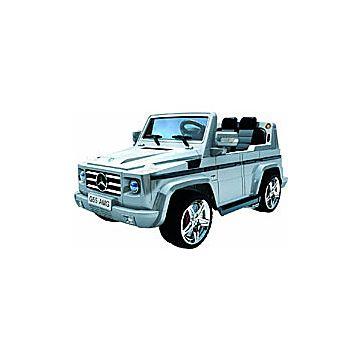 Электромобиль Joy Avtomatic Mercedes Benz G55 AMG с пультом управления (серый)