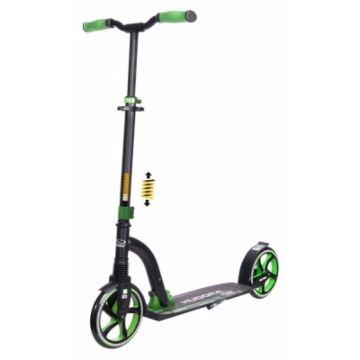 Самокат Hudora Big Wheel Flex 200 New (зеленый)