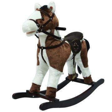 Качалка-лошадь Pituso Fandango (коричнево-белая)