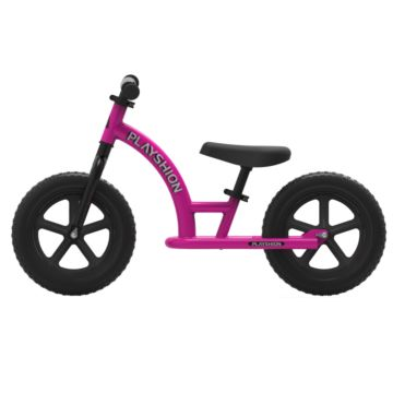 Беговел Playshion Street Bike (розовый)