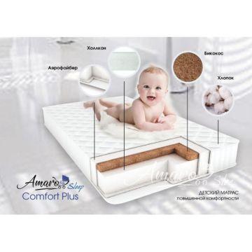 Матрас AmaroBaby Comfort Plus 120х60х12см