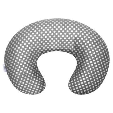 Подушка для беременных и кормящих мам Womar Zaffiro Comfort Exlusive 140 см. (серебряный)