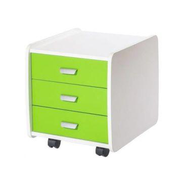 Тумба подкатная Астек Лидер (зеленый)
