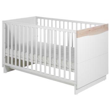 Кроватка детская Geuther Wave (белый/бук)