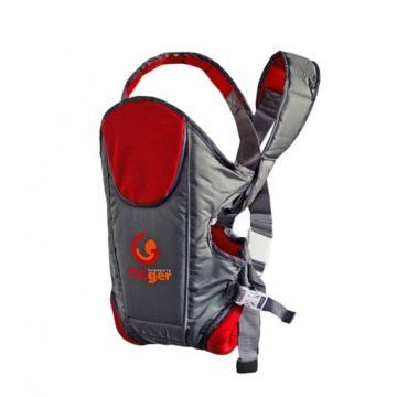 Слинг-рюкзак TIGger Wolkke (красный)