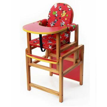 Стул-стол для кормления Вилт Ксения (красный)