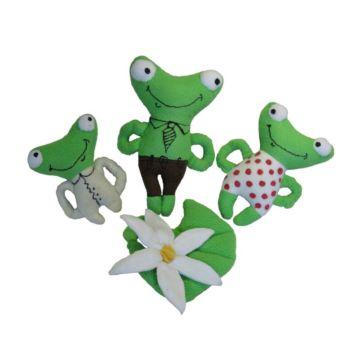 Комплект мягких игрушек на комод Papaloni Лягушачья Ламбада