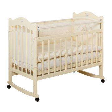 Кроватка детская Incanto Sofi (Качалка-колесо) (слоновая кость)