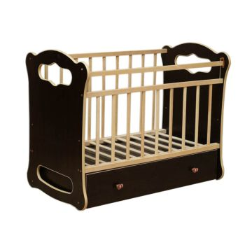 Кроватка детская ВДК Bianca (поперечный маятник) (венге)