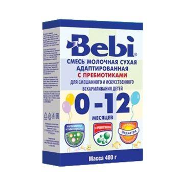 Сухая молочная смесь Bebi в коробке (0-12 месяцев) 400 г