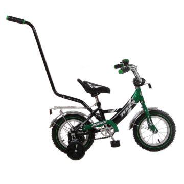 """Детский велосипед Mars 12"""" с ручкой"""