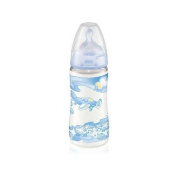Бутылочка NUK First Choice Baby Blue 300 мл