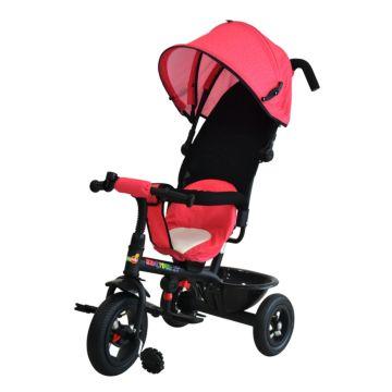 Трехколесный велосипед Babyhit Kids Tour XT с надувными колесами (красный)