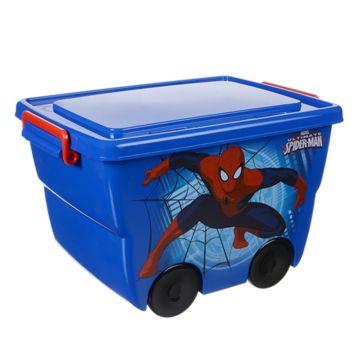Корзина для игрушек IDEA (М-Пластика) Человек-паук