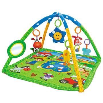 Развивающий коврик FunKids 3 Happy Farm Gym