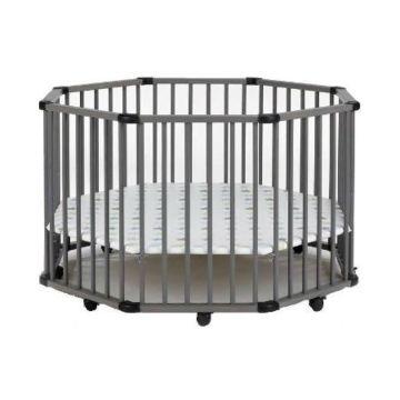 Манеж-кровать Geuther Octo-Parc серый 32