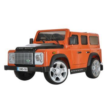 Электромобиль Dongma Land Rover Defender 35W (оранжевый)