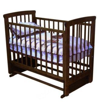 Кроватка детская Можга Марина (поперечный маятник) (шоколад)