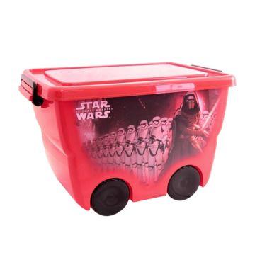 Корзина для игрушек IDEA (М-Пластика) Звёздные войны (Красный)