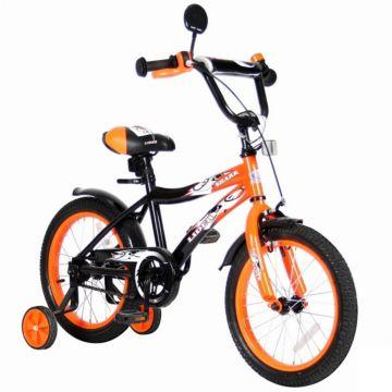 """Детский велосипед Velolider Shark 16"""" Оранжевый/Черный"""