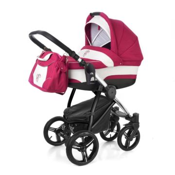 Коляска 2 в 1 Esspero Newborn Lux Chrome Borduex