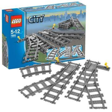 Конструктор Lego City 7895 Город Железнодорожные стрелки