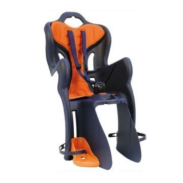Велокресло на багажник Bellelli B-One Clamp до 22 кг (темно-синее)