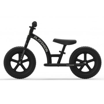 Беговел Playshion Street Bike (черный)