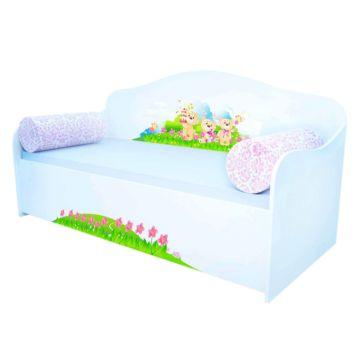 Кровать-диван Кроватка5 (Мишки на отдыхе)