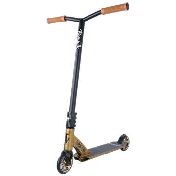 Трюковый самокат TechTeam Airwalk 2018 (черно-золотой)