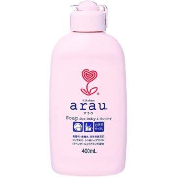 Жидкое мыло для мытья посуды и овощей Arau (400 мл)