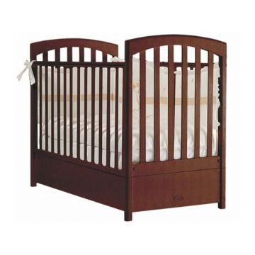 Кроватка детская Feretti FMS Sauvage (продольный маятник) (орех)