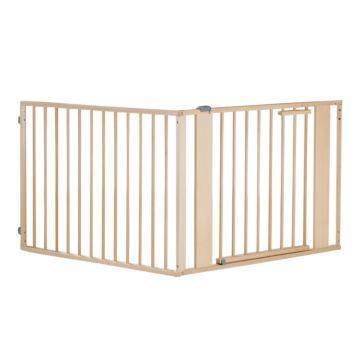 Ворота безопасности Geuther 2761 120-180 см (натуральный)