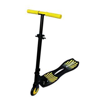 Инерционный самокат Explore Street Teens (черно-желтый)