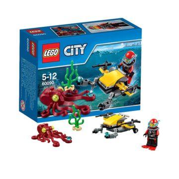 Конструктор Lego City 60090 Город Глубоководный скутер