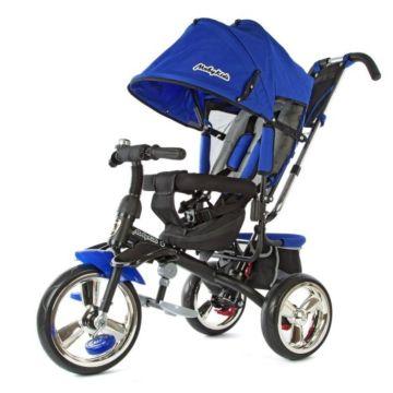 Трехколесный велосипед Moby Kids Comfort Maxi (Синий)