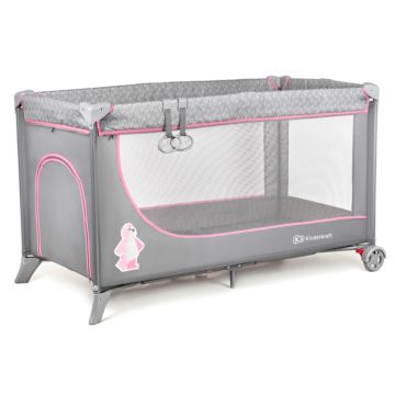Манеж-кровать KinderKraft Joy Standard (pink)